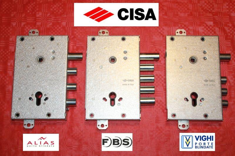 Serrature porte blindate sostituzione serrature fabbro for Serratura cilindro europeo cisa prezzi